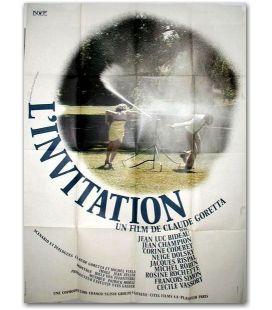 """L'Invitation - 47"""" x 63"""""""