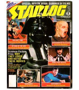 Starlog N°76 - Novembre 1983 - Ancien magazine américain avec Star Wars