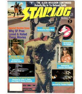 Starlog Magazine N°88 - November 1984 with Gremlins