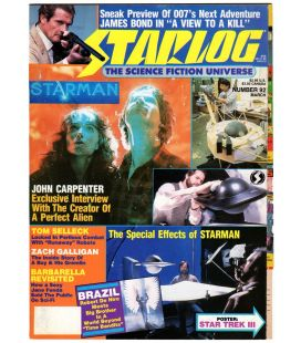 Starlog Magazine N°92 - March 1985 with Starman