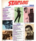 Starlog N°92 - Mars 1985 - Ancien magazine américain avec Starman