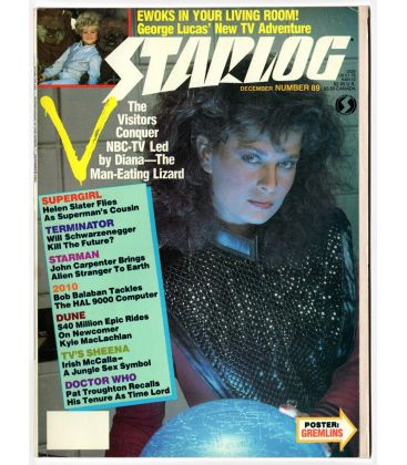 Starlog Magazine N°89 - December 1984 with Jane Badler