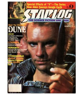 Starlog Magazine N°91 - February 1985 with Sting