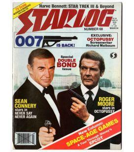 Starlog N°68 - Mars 1983 - Ancien magazine américain avec James Bond