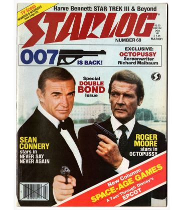 Starlog Magazine N°68 - March 1983 with James Bond