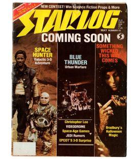 Starlog N°70 - Mai 1983 - Ancien magazine américain avec Tonnerre de feu