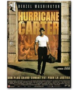 "Hurricane Carter - 47"" x 63"""