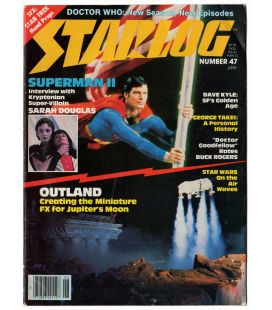Starlog Magazine N°47 - June 1981 with Christopher Reeve in Superman II