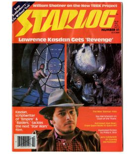 Starlog Magazine N°51 - October 1981 with Star Wars and Indiana Jones