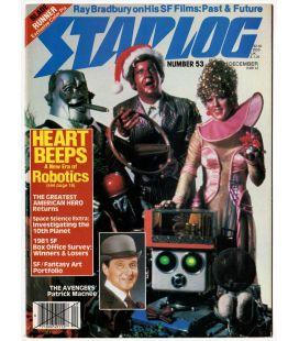 Starlog N°53 - Décembre 1981 - Ancien magazine américain avec Heartbeeps