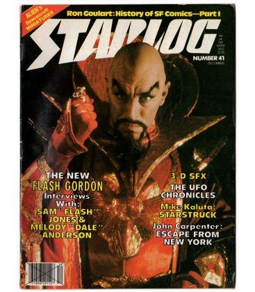 Starlog N°41 - Décembre 1980 - Ancien magazine américain avec Flash Gordon