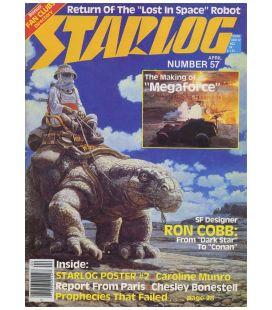 Starlog N°57 - Avril 1982 - Ancien magazine américain avec Megaforce