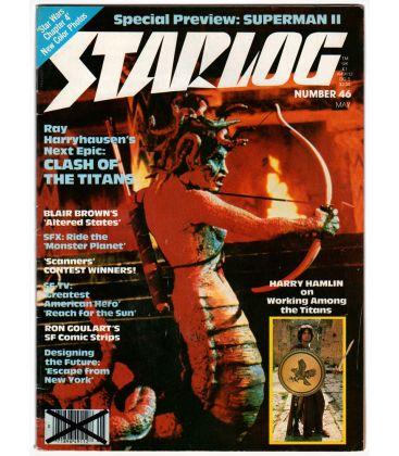 Starlog N°46 - Mai 1981 - Ancien magazine américain avec Le Choc des Titans