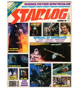 Starlog Magazine N°36 - July 1980 with Star Wars
