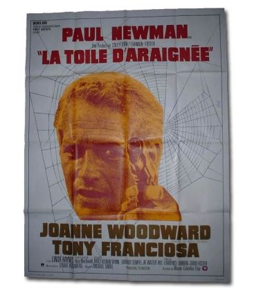 "The Drowning Pool - 47"" x 63"" - Vintage Original French Poster"