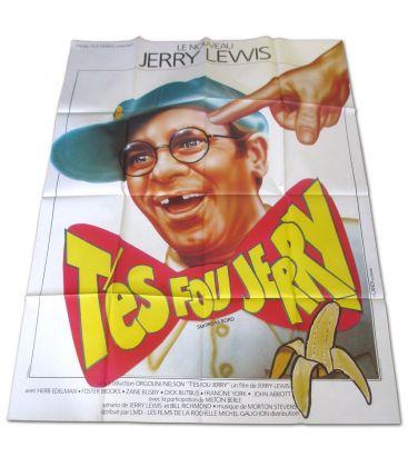 """T'es fou Jerry - 47"""" x 63"""" - Ancienne affiche originale française"""
