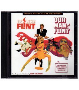 Notre homme Flint / F comme Flint - Trame sonore - CD