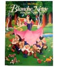 "Snow White and the Seven Dwarfs - 16"" x 21"" - Original French Poster"