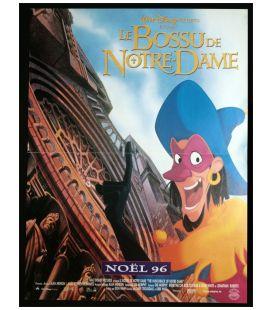 """Le Bossu de Notre-Dame - 16"""" x 21"""" - Affiche originale préventive française"""