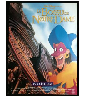 "The Hunchback of Notre Dame - 16"" x 21"" - Original Advance French Poster"