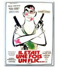 "There Was Once a Cop - 47"" x 63"" - Vintage Original French Poster"