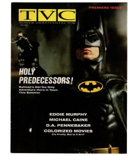 TVC Magazine - June 1989 - US Magazine with Batman