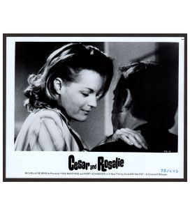 "César et Rosalie - Photo 10"" x 8"" avec Romy Schneider"