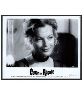 "César et Rosalie - Photo 10"" x 8"" avec Romy Schneider (CR-3)"