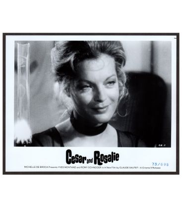 "Cesar and Rosalie - Vintage Photo 10"" x 8"" with Romy Schneider (CR-3)"