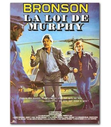 """Murphy's Law - 47"""" x 63"""" - Original French Poster"""