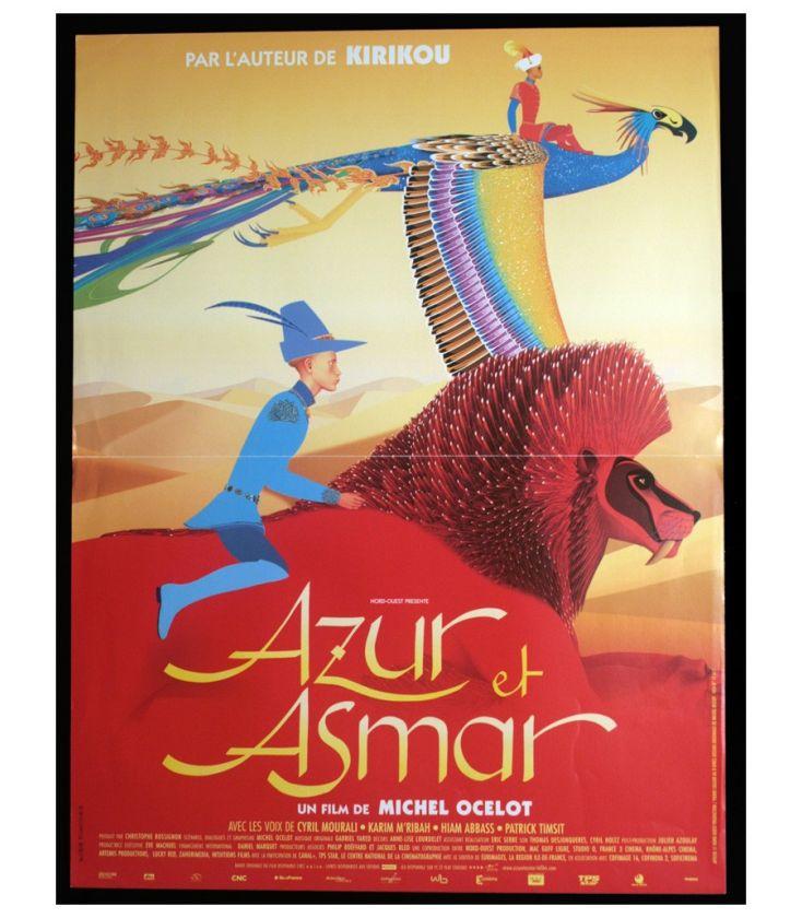 Azur Et Asmar 16 X 21 Affiche Originale Francaise Cinema Passion