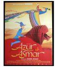 """Azur et Asmar - 16"""" x 21"""" - Affiche originale française"""