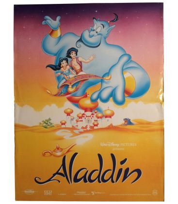 "Aladdin - 16"" x 21"" - Original French Advance Poster"