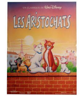 """Les aristochats - 16"""" x 21"""" - Affiche originale préventive française"""