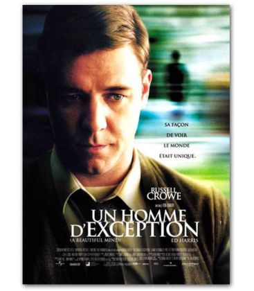 "A Beautiful Mind - 47"" x 63"" - Original French Poster"
