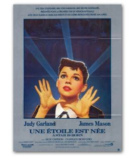 "A Star is Born - 47"" x 63"" - Vintage Original French Poster"