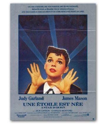 """Une étoile est née - 47"""" x 63"""" - Ancienne affiche originale française"""