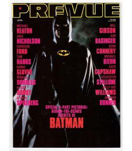 Prevue Magazine N°76 - July 1989 with Batman