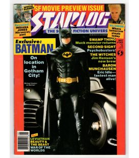 Starlog Magazine N°142 - May 1989 with Batman
