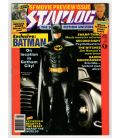 Starlog Magazine N°142 - May 1989 issue with Batman