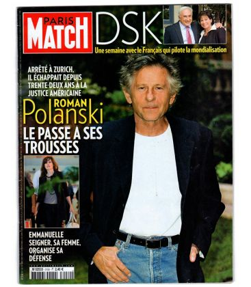 Paris Match Magazine N°3150 - October 1, 2009 with Roman Polanski