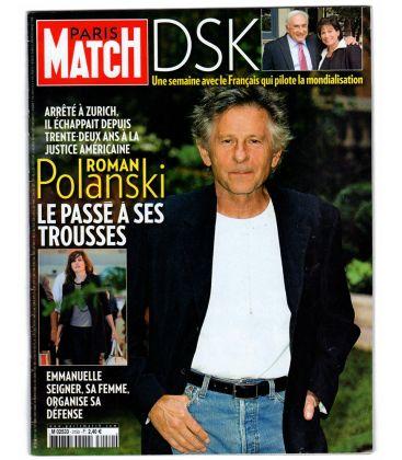 Paris Match N°3150 - 1er octobre 2009 - Magazine français avec Roman Polanski