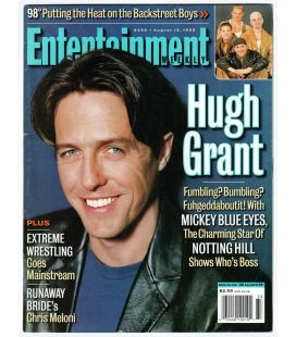 Entertainment Weekly N°498 - 13 août 1999 - Magazine américain avec Hugh Grant