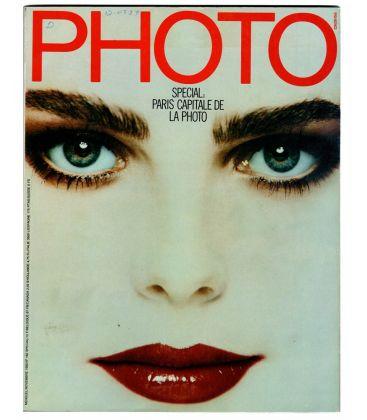Photo Magazine N°182 - October 1982 with Margaux Hemingway