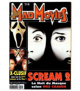 Mad Movies N°114 - Juillet 1998 - Magazine français avec Scream 2