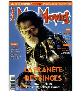 Mad Movies Magazine N°134 - September 2001 with Planet of the Apes
