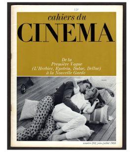 Cahiers du cinema Magazine N°202 - June 1968 with Bulle Ogier