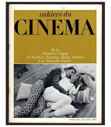 Cahiers du cinéma N°202 - Juin 1968 - Magazine français avec Bulle Ogier