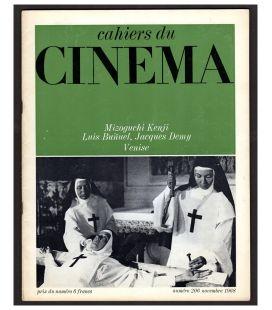 Cahiers du cinéma N°206 - Novembre 1968 - Magazine français avec La voie lactée de Luis Bunuel