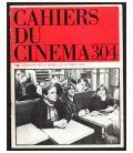 Cahiers du cinéma N°304 - Octobre 1979 - Magazine français avec Gérard Depardieu